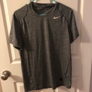Men's Fitted Nike Pro Top